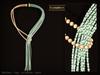 KUNGLERS - Sibilla necklace - Aquamarine