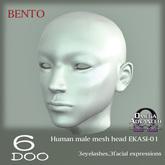 DEMO *6DOO* bento Human mesh head EKASI-01