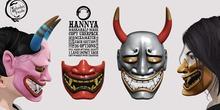 Schadenfreude Hannya Mask&Half-Mask Copy Uberpack