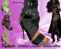 **SD**-AKASHA- Mistress Vampire Gothic High Heel Stiletto Shoes ( Promotional )