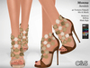 C&S Monna Sandals - Maitreya Lara, Slink High, Belleza. 40 Textures