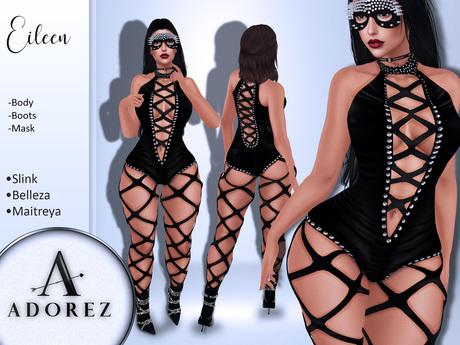 AdoreZ-Eileen Outfit Black