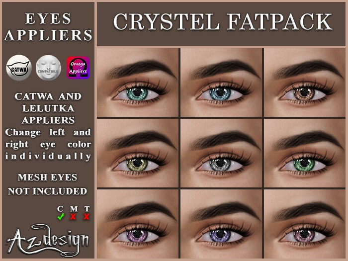 Az... Crystel Fatpack (EYES APPLIERS)