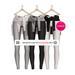 ( Holly Mill ) - Crossfitter Set - Grayscales [ For Maitreya Lara, Slink Hourglass, Belleza Freya ONLY ]
