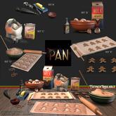 *PAN* Christmas Cookies Bake Set