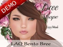 "Bree Shape ""LAQ Bento Bree Head"" Demo"