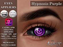 Az... Hypnosis Purple (EYES APPLIERS)