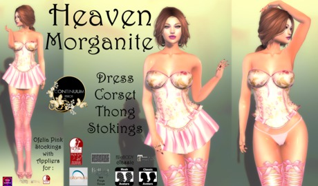 Continuum Heaven Morganite complete outfit