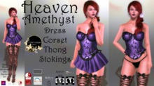 Continuum Heaven Amethyst complete outfit