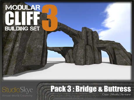 Skye Modular Cliff : Pack 3 Bridge & Buttress