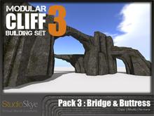 Skye Modular Cliff : Pack 3 Bridge & Buttress