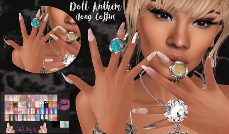 ~GD~Doll Anthem(Long Coffin) - Belleza BENTO Hands