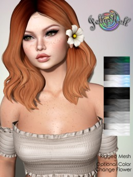 JellyRoll - Alice Hairstyle Grayscale