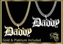 RJ Daddy Chain (Boxed) includes Bright & No bright