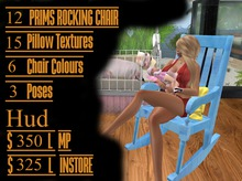G&L ZOOBY CUDDLE ROCKING CHAIR