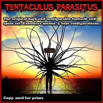 Tentaculus Parasitus - (spine tentacles, spikes, wings)