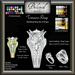 Wedding Engagement Ring Bento Set by Beloved Jewelry : Treasure Wedding Ring Set (Texture Change) 3 Ring Set Part Mesh
