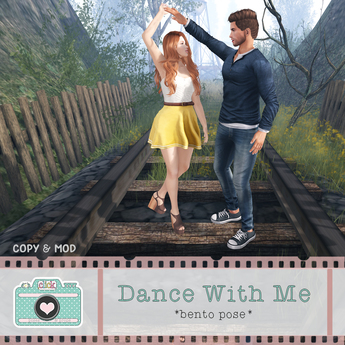 .click. Dance With Me - Couples Bento Pose