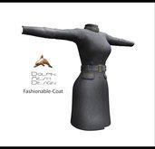 [Dolphin Design Mesh] Full permissions Fashionable-Coat