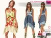 Full Perm Boho Style Dress V.1 - Slink, Maitreya, Belleza, Ocacin, Tonic, TMP, Ebody and Classics