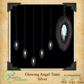 GC-Glowing Angel Tears Silver Boxed