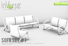 inVerse® MESH - Sofa Set #7 full permission bxd