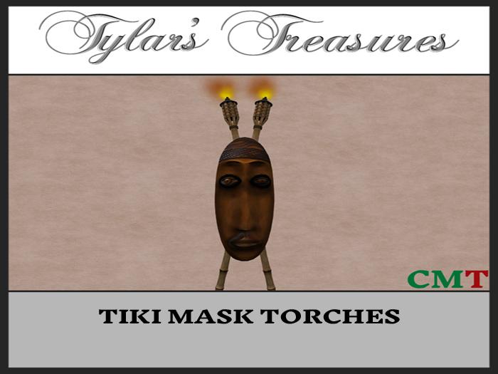 .:TT:.  TIKI MASK TORCHES box