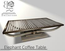 [BR] Tusk Coffee Table
