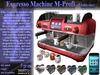 Espresso machine m profi verkauf2