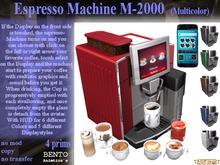 Espresso Machine M2000-S7MT3V5.x (Boxed)