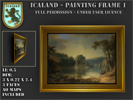 Icaland - Painting Frame 1