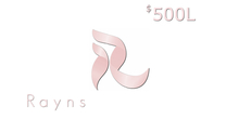 Rayns - Giftcard 500L$