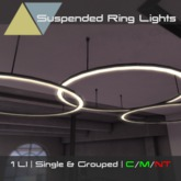 [p] Suspended Ring Lights