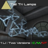 [p] Tall Tri-Lamps