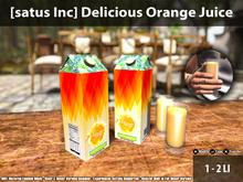 [satus Inc] Delicious Orange Juice