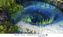 [7+] BLUE HOLE : UNDERWATER CAVE