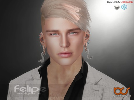 .::Boss Style::. Shape Felipe for bento - Catwa Victor
