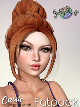 JellyRoll - Cassie Hairstyle Fatpack