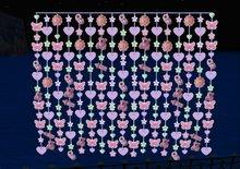 baby bead curtains purple