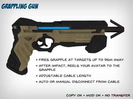 Grappling Gun - Lets You Climb Walls