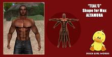 Teal'c shape for Max Altamura promo