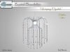 "ALUORA Chandelier ""Weeping Crystals"" - Full Perms"