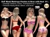 OnP Mesh Maitreya Panties and Bra
