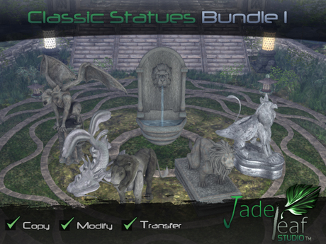 Classic Statues Bundle I