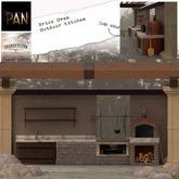 *PAN* Brick Oven Outdoor Kitchen