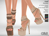 C&S Lexi Sandals - Maitreya Lara, Slink High, Belleza. 40 Textures HUD. 5 Metals