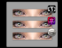[bai] Catwa, Omega, & Standard Eye Appliers [brown]