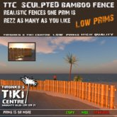 TTC Sculpted Bamboo Fence [b]