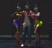 SP Bento pose Three friends
