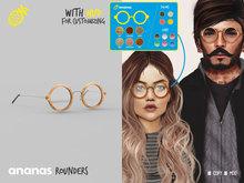 ananas //Rounders - Round Glasses